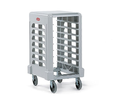 Rubbermaid FG331500OWHT Max System Prep Cart with Cutting Board