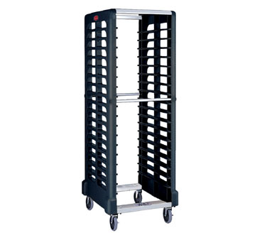 Rubbermaid FG332400BLA Max System Rack 18 Slot Dual Loader, Full Size