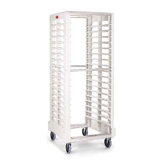 Rubbermaid FG332400OWHT Max System Rack 18 Slot Dual Loader, Full Size