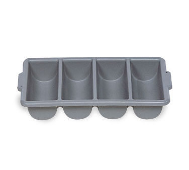 Rubbermaid FG336200GRAY Cutlery Bin with 4 Compartments