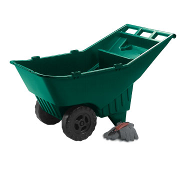 Rubbermaid FG370612714 Roughneck Lawn Cart Pallet 4.5 Cu. Ft.