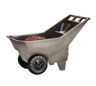 Rubbermaid FG370712907 Roughneck Lawn Cart Pallet 3.25 Cu. Ft.
