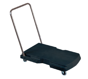 Rubbermaid FG440000BLA Utility Duty Triple Trolley