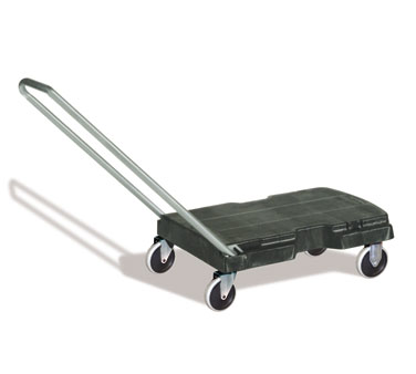 Rubbermaid FG440120BLA Standard Duty Triple Trolley