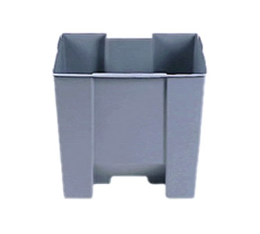 Rubbermaid FG624400GRAY Step-On Container Rigid Liner 10-1/4 Gallon Capacity