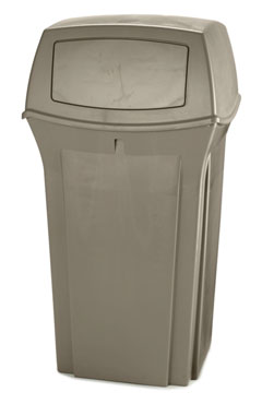 Rubbermaid FG843088BEIG 35 Gallon Ranger Classic Container