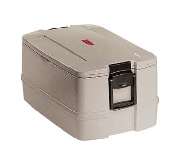 Rubbermaid FG940700PLAT CaterMax 50 Insulated Carrier 29-1/2