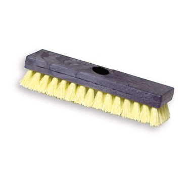 Rubbermaid FG9B3600YEL Plastic Block Deck Brush