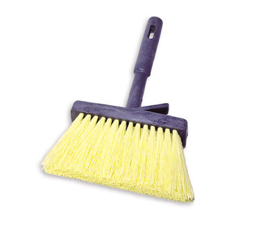 Rubbermaid FG9B5000YEL Masonry Brush with Plastic Handle