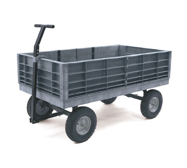 Rubbermaid FG9T0600BLA Platform Convertible Wagon