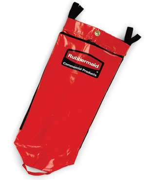 Rubbermaid FG9T9300RED 34 Gallon Recycling Bag with Universal Recycling Symbol