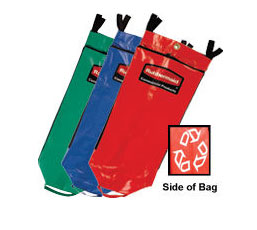 Rubbermaid FG9T93010000 Recycling Bag Set with Universal Recycling Symbol