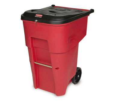 Rubbermaid FG9W1900RED BRUTE Medical Waste Container 65 Gallon