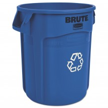 Rubbermaid Brute Blue Recycling Container, 20 Gallon