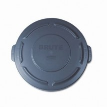 Rubbermaid Brute Gray Round Flat Top Lid 20 Gallon