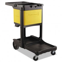 Rubbermaid Locking Janitor Cart Cabinet For Cleaning Carts