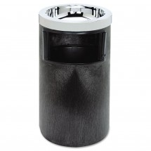 Rubbermaid Smoking Urn with Ashtray and Metal Liner, 2 Gallon