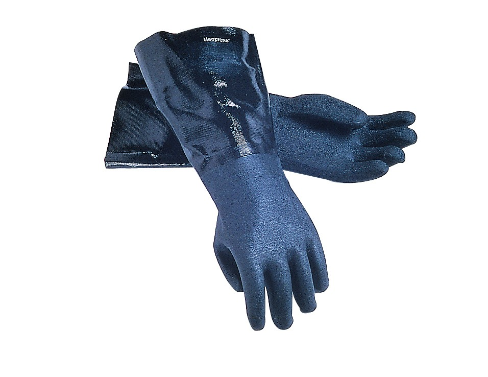 San Jamar 1217EL Neoprene Dishwashing Gloves 17