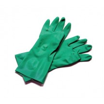 San Jamar 13NU-M Medium Nitrile Flocked Gloves