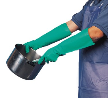San Jamar 19NU-L Large Nitrile Pot And Sink Gloves