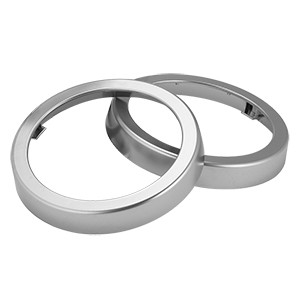 San Jamar C54XC Metal Sentry In-Counter Finish Rings