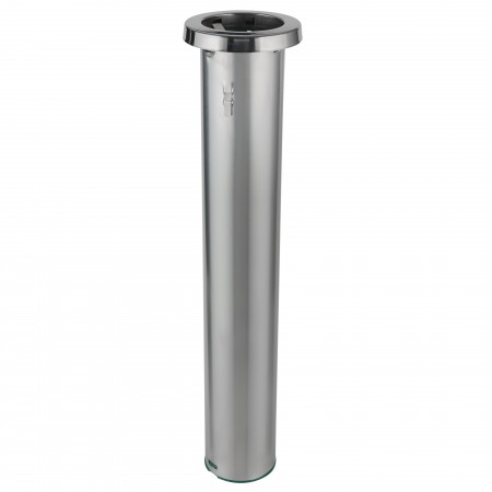 San Jamar C6400C Stainless Steel In-Counter 12-24 oz. Cup Dispenser