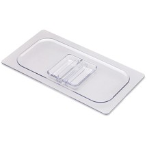 San Jamar CI7113L Clear Chill-It 1/3 Size Food Pan Lid