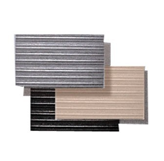 San Jamar KM4360GY Grey Anti-Fatigue Sponge Floor Runner