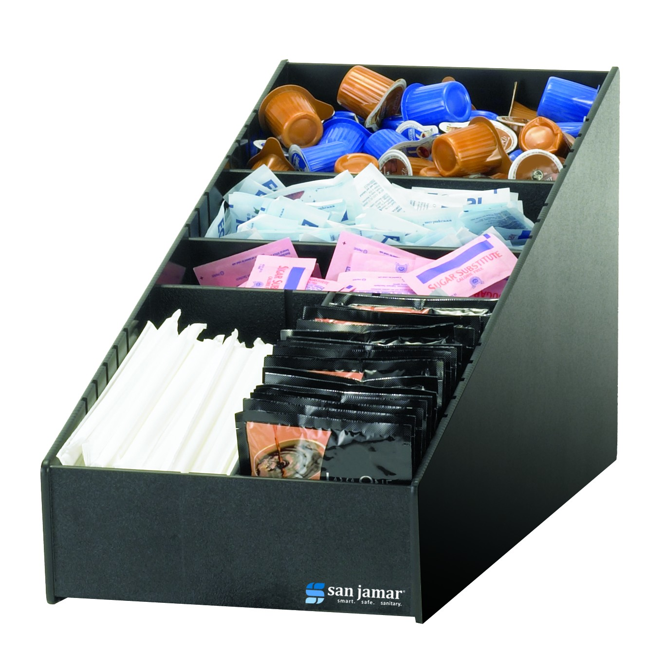 San Jamar L2900 Condiment And Straw Organizer