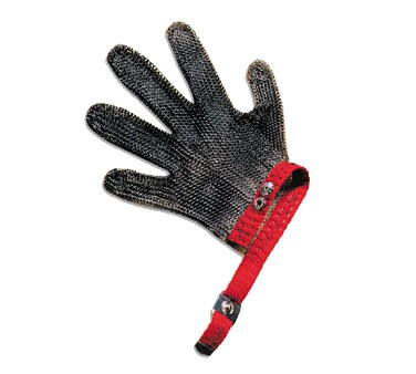 San Jamar MGA515XL Extra Large Steel Mesh No-Cut Gloves