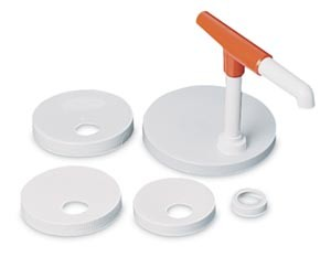 San Jamar P7410 Mega Food Or Condiment Pump Center Kit