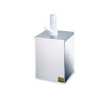 San Jamar P9810 Condiment 1 Gallon Jar Pump Box