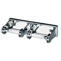 San Jamar R260XC Chrome Locking Standard Double Roll Bath Tissue