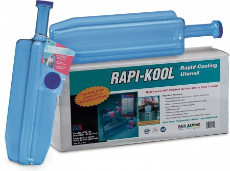 San Jamar RCU1282 Two Pack Rapi-Kool Cold Paddles 128 oz.