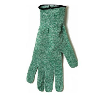 San Jamar SG10-GN-M Green Cut-Resistant Glove with Dyneema, Medium