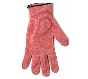 San Jamar SG10-RD-S Red Cut-Resistant Glove with Dyneema, Small