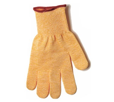 San Jamar SG10-Y-L Large Yellow Spectra No-Cut Gloves