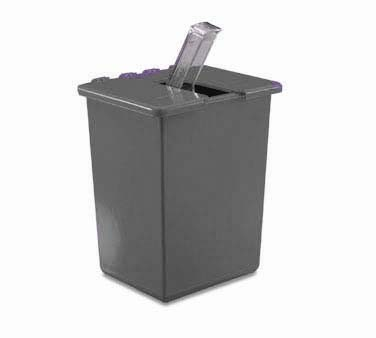 San Jamar SI2000BK Black Saf-T-Ice Scoop Caddy