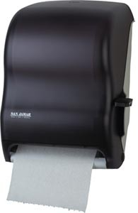 San Jamar T1100TBK Classic Black Pearl Lever Touch Roll Towel Dispenser
