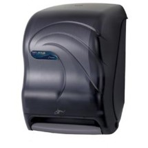 San Jamar T1490TBK Oceans Black Pearl Smart System No Touch Roll Towel Dispenser