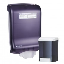 San Jamar T1730TBK Hand Washing Station Value Pack