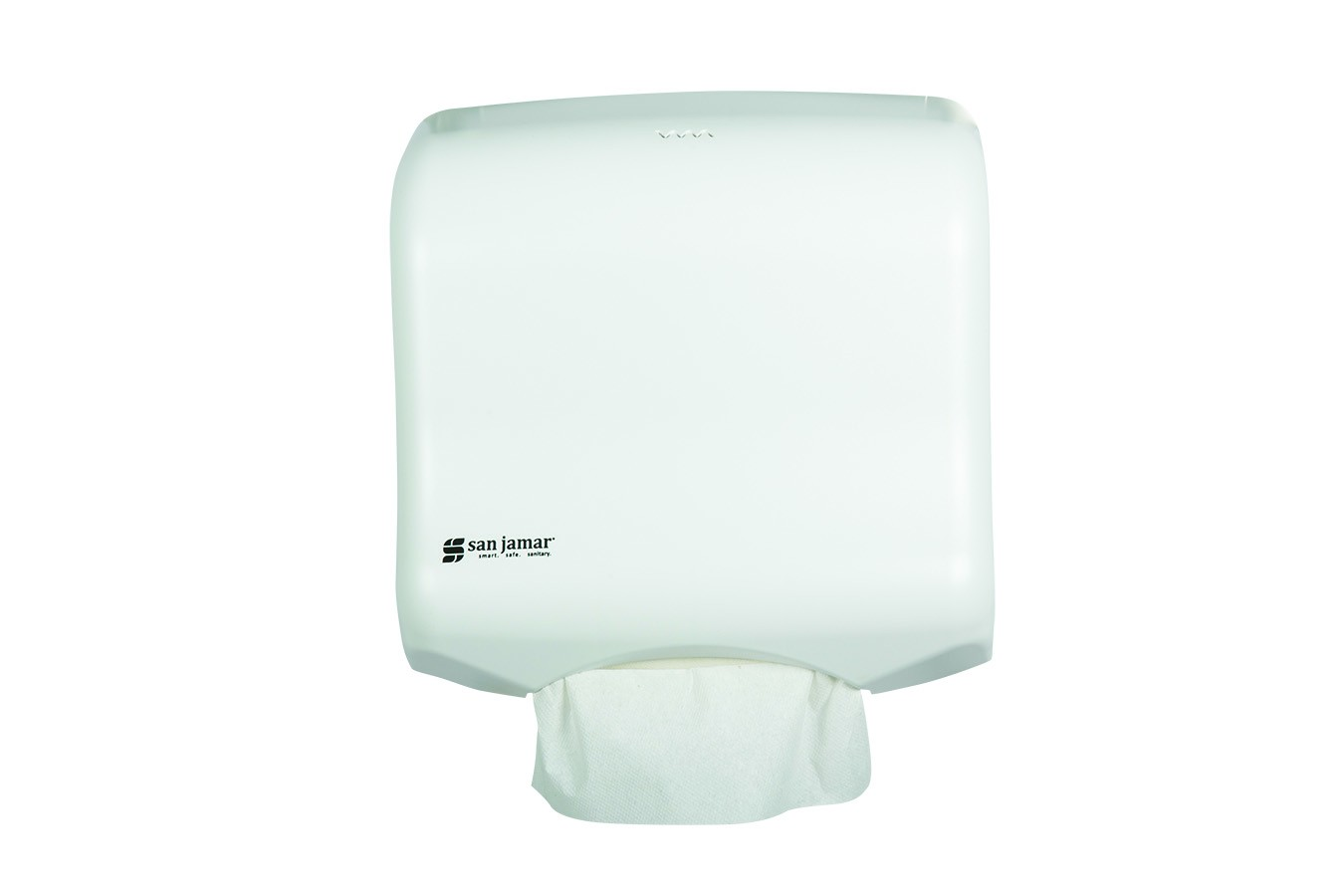 San Jamar T1750WH White Ultrafold Folded Towel Dispenser