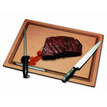 "San Jamar TC182412GV Tuff-Cut Cutting Board 18"" x 24"""