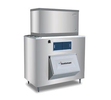 Scotsman BH1300SS-A 1400 Lb. Upright Ice Bin for Top Mounted Ice Makers