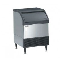 Scotsman CU1526SA-1 150 Lb. Medium Cube Ice Machine With 80 Lb. Bin
