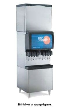 Scotsman EH430SL-1 1400 Lb. Prodigy Eclipse Small Cube Style Ice Machine