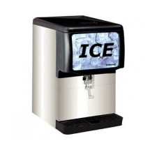 Scotsman ID150B-1 150 Lb. Nugget Style Countertop Ice Dispenser