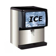 Scotsman ID250B-1 250 Lb. Countertop Ice Dispenser
