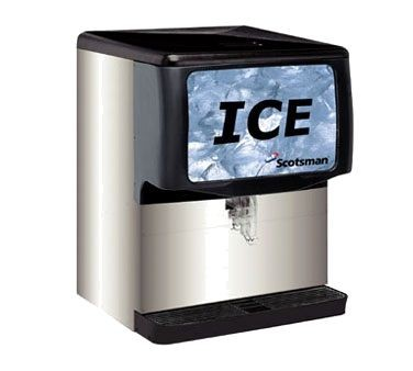 Large Capacity Countertop Ice Maker : Scotsman ID250B-1 250 Lb. Countertop Ice Dispenser