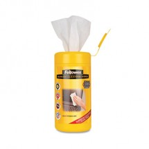 Fellowes Screen Cleaning Wet Wipes, 100 Wipes